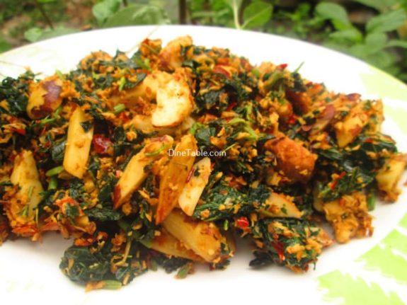 Chakkakuru Cheera Thoran Recipe / Delicious Dish