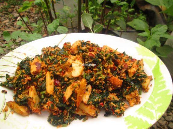 Chakkakuru Cheera Thoran Recipe / Simple Dish