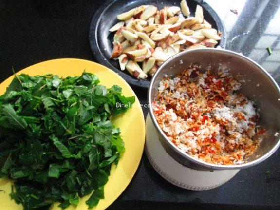 Chakkakuru Cheera Thoran Recipe / Side Dish
