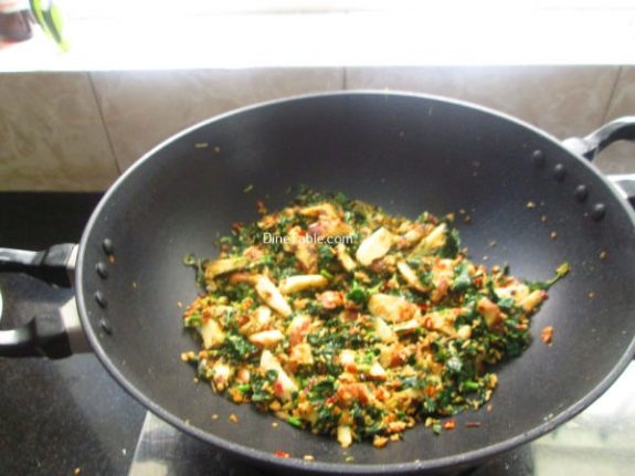 Chakkakuru Cheera Thoran Recipe / Homemade Dish