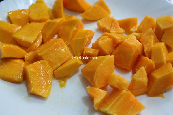 how to make a homemade mango smoothie