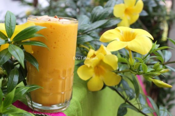 Mango Papaya Smoothie Recipe / Nutritious Smoothie