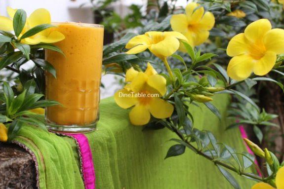 Mango Papaya Smoothie Recipe / Easy Smoothie