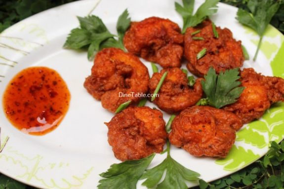 Prawns 65 Recipe / Healthy Fry