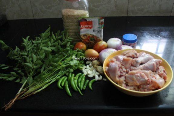 Chicken Biryani Recipe / Easy Dish