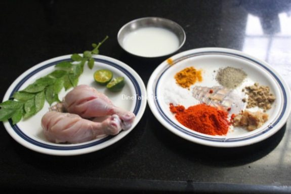 Chicken Drumsticks Fry Recipe / Quick Fry