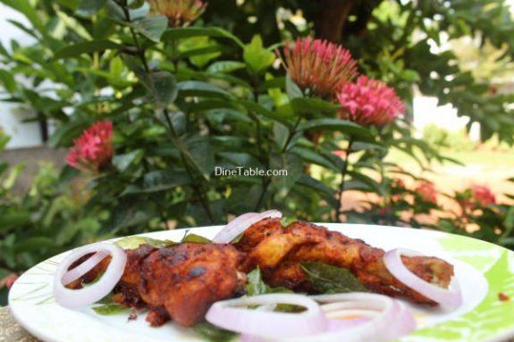 Chicken Drumsticks Fry  Recipe / Easy Fry