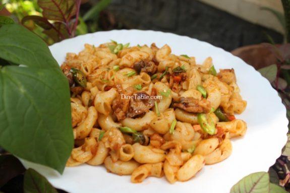 Chicken Macaroni Recipe / Easy Dish