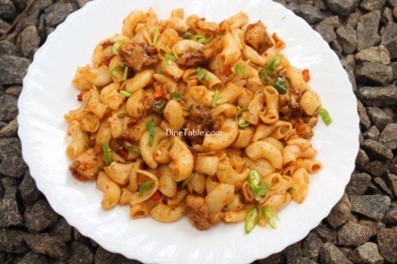 Chicken Macaroni Recipe / Macaroni Dish
