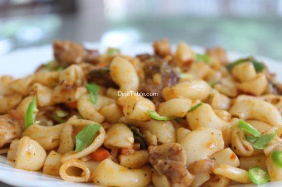Chicken Macaroni Recipe / Breakfast Dish