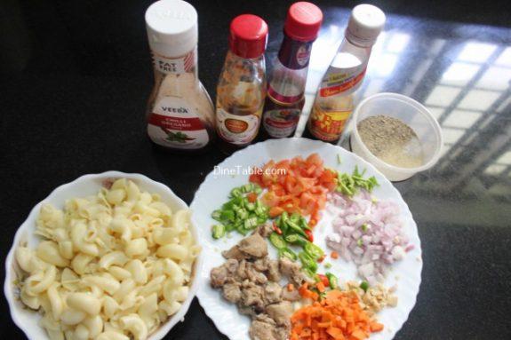 Chicken Macaroni Recipe / Indian Dish