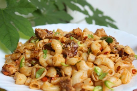 Chicken Macaroni Recipe / Simple Dish