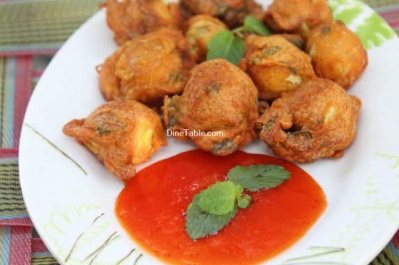 Kaada Mutta Bajji Recipe / Egg Bajji