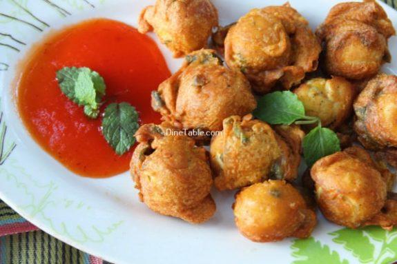 Kaada Mutta Bajji Recipe / Homemade Bajji