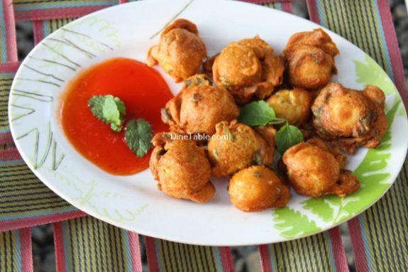 Kaada Mutta Bajji Recipe / Nutritious Bajji