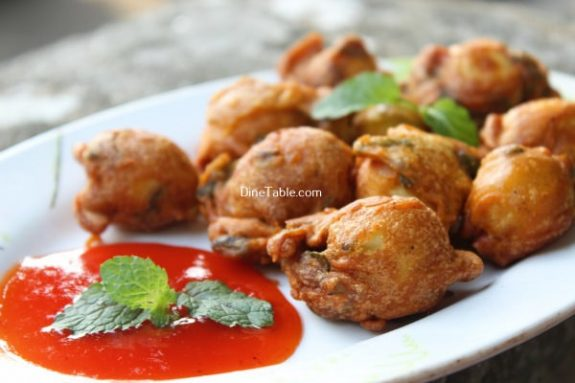 Kaada Mutta Bajji Recipe / Tasty Bajji
