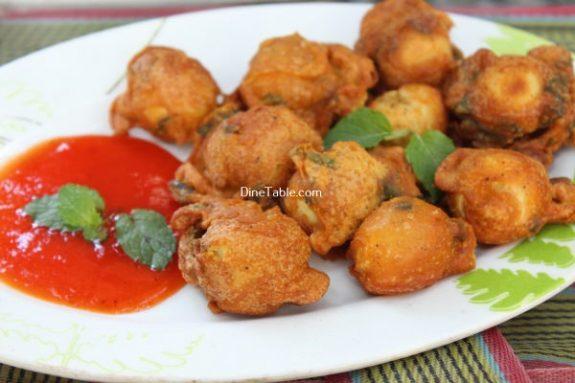 Kaada Mutta Bajji Recipe / Spicy Bajji