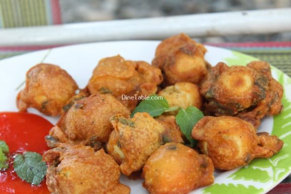 Kaada Mutta Bajji Recipe / Healthy Bajji