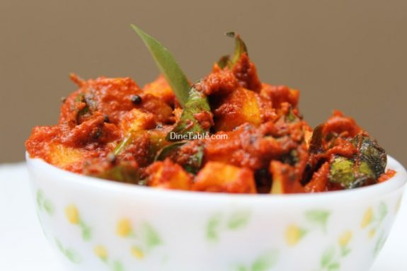 Raw Mango Pickle Recipe / Delicious Pickle