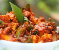 Raw Mango Pickle Recipe / Vegetarian Pickle