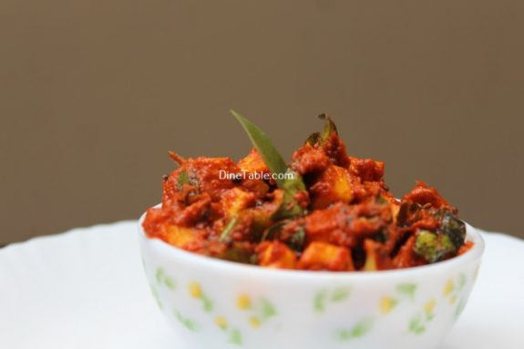 Raw Mango Pickle Recipe / Quick Pickle