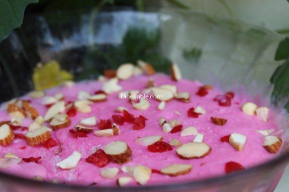 Strawberry Ice Cream Recipe / Kerala Ice Cream