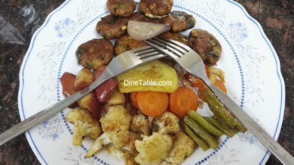 Healthy Grilled Vegetables Recipe - Quick & Easy Grilled Veggies in Cooking Range Oven