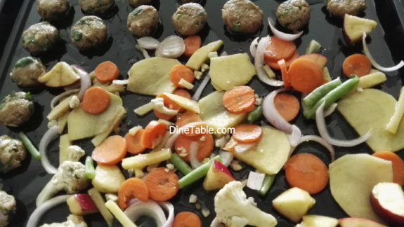 Tasty Grilled Vegetables Recipe - Quick & Easy Grilled Veggies in Cooking Range Oven