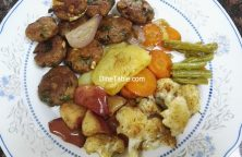 Grilled Vegetables Recipe - Grilled Veggies in Cooking Range Oven