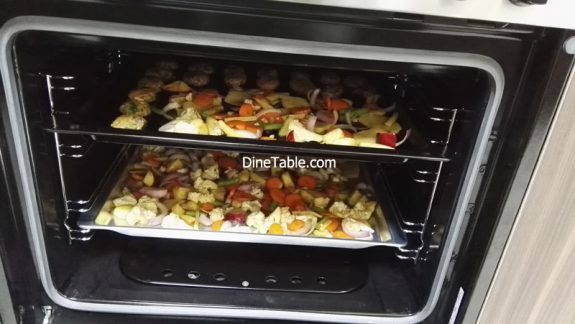 How to Prepare Grilled Vegetables Recipe - Quick & Easy Grilled Veggies in Cooking Range Oven