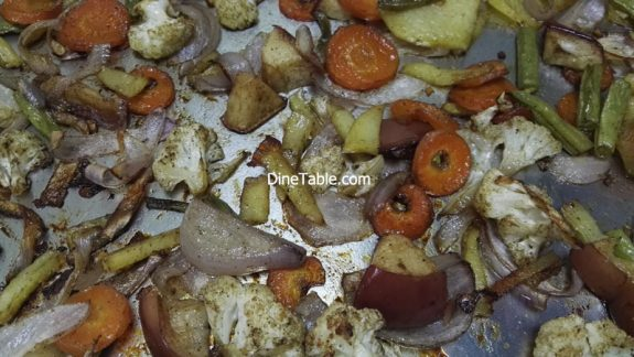 Grilled Vegetables Recipe - Quick & Easy Grilled Veggies in Cooking Range Oven