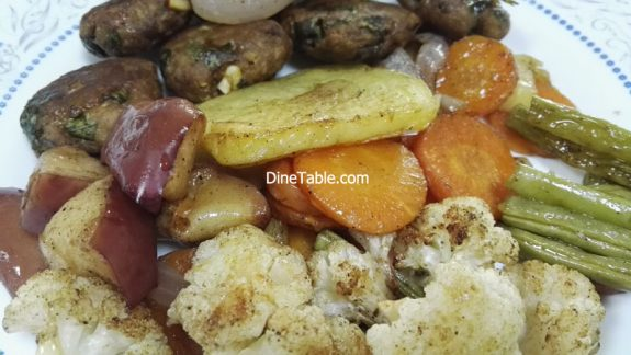 Grilled Vegetables Recipe - Easy Grilled Veggies in Cooking Range Oven