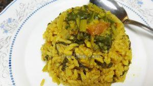 Palak Biriyani Recipe - Easy Single Pot Biriyani - Healthy Veg Biryani Recipe