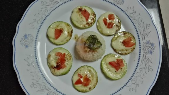 Tiny Zucchini Pizza Recipe - Easy Healthy Starter Recipe