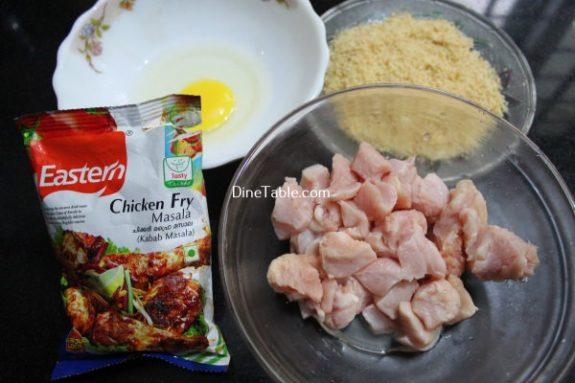 Chicken Popcorn Recipe / Quick Dish