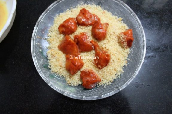 Chicken Popcorn Recipe / Snack Dish