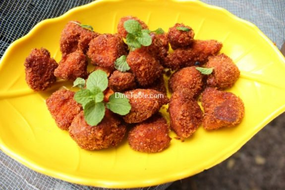 Chicken Popcorn Recipe / Crunchy Dish