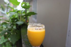 Egg Fruit Milkshake