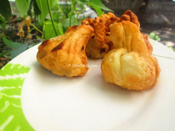 Fried Chicken Momos Recipe / Simple Momos