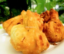 Fried Chicken Momos Recipe / Crunchy Momos