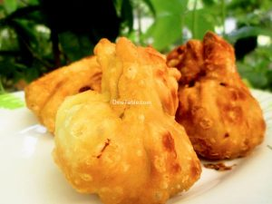 Fried Chicken Momos Recipe