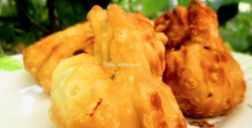 Fried Chicken Momos Recipe / Crunchy Momos