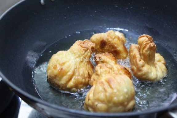 Turkey Pathiri Recipe / Stuffed Snack