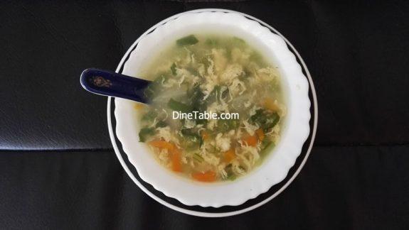 Spinach Soup Recipe