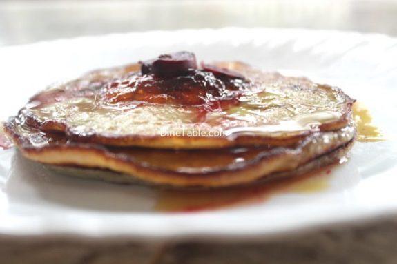 Banana Egg Pancake Recipe / Sweet Dish