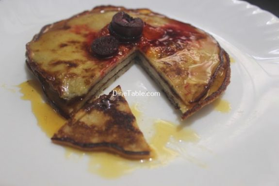 Banana Egg Pancake Recipe / Yummy Dish