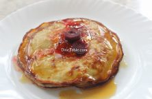 Banana Egg Pancake Recipe / Snack Dish