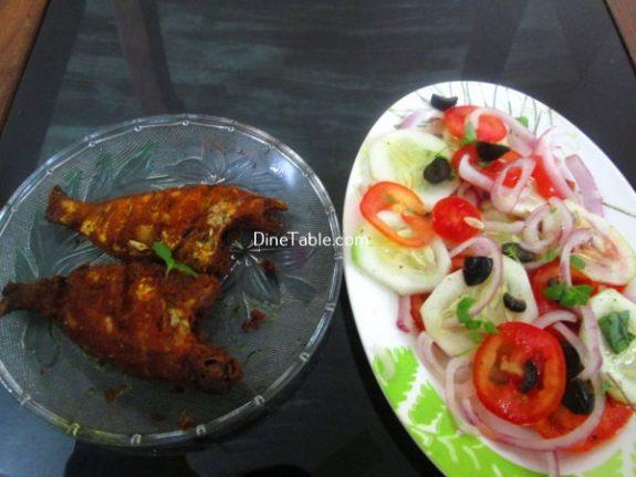 Black Olive Tomato Salad Recipe - Healthy Salad