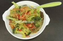 Broccoli Thai Curry - Easy & Healthy Thai Veg Recipe