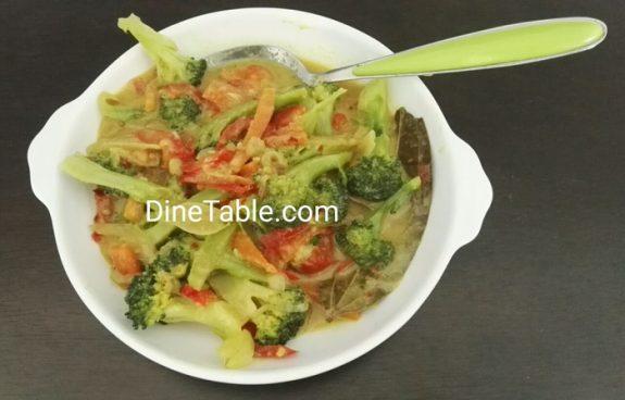 Broccoli Thai Curry - Easy & Healthy Thai Veg Recipe